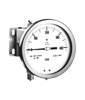 ALL ST ST DIFFERENTIAL PRESSURE GAUGE BELLOW TYP