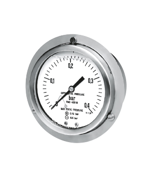 ALL ST ST DIFFERENTIAL PRESSURE GAUGE DOUBLE BOU