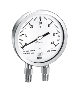 ALL ST ST DIFFERENTIAL PRESSURE GAUGE CAPSULE TY