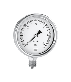BOURDON TYPE PRESSURE GAUGE serie MB100