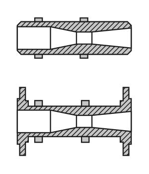 VENTURI TUBE series CVT