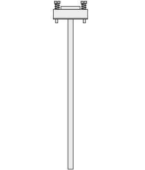 BASE THERMOSENSOR INSERT for RTD or Thermocouple