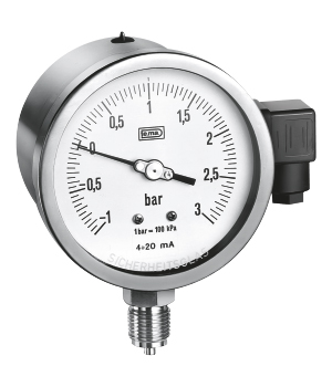 ALL ST ST BOURDON TYPE PRESSURE GAUGE WITH PRESU